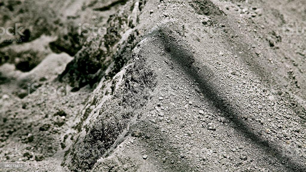 Ash And Slag : 아시 애쉬즈 분진으로 파우다 먼지 털기 신더 슬래그 콘크리트 beton 밀가루 스톡 사진 istock
