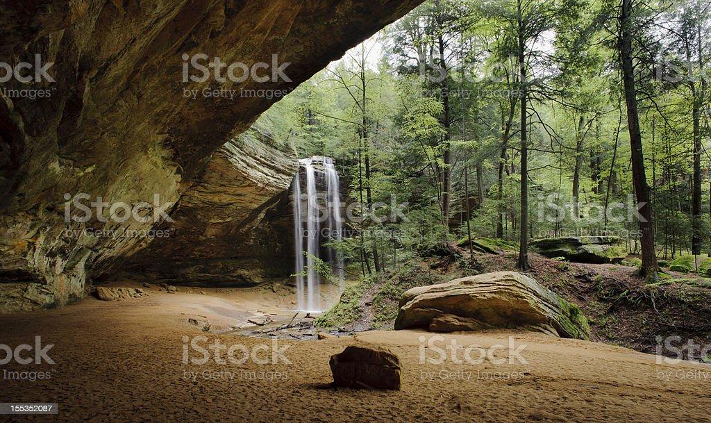 Ash Cave stock photo