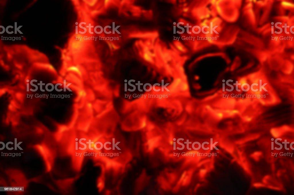 ash fire blurred in dark night stock photo