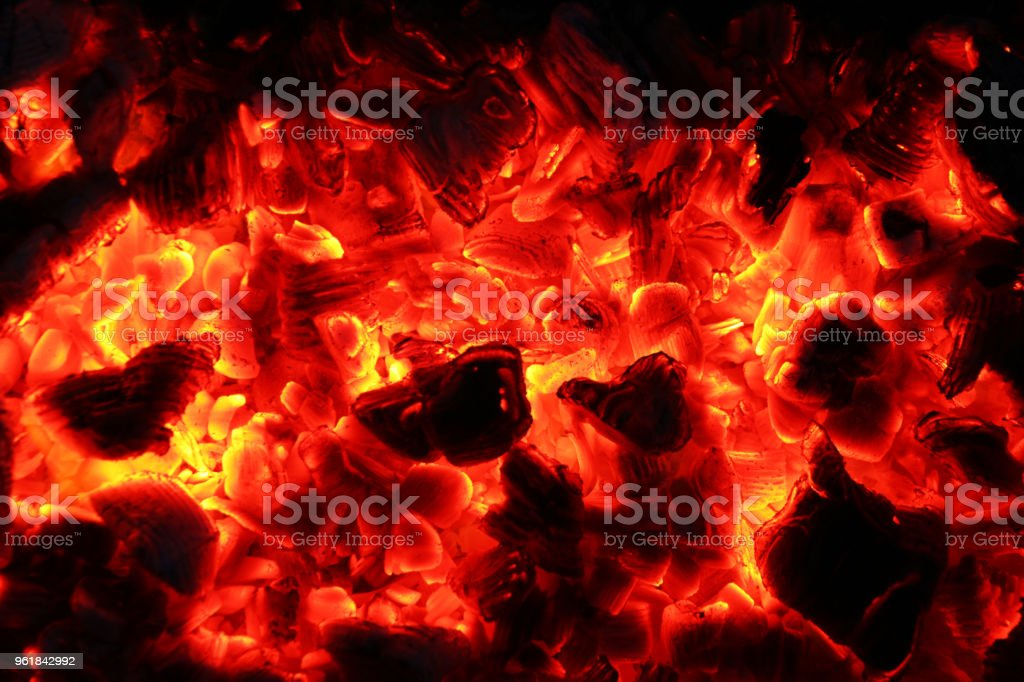 ash fire dark night stock photo