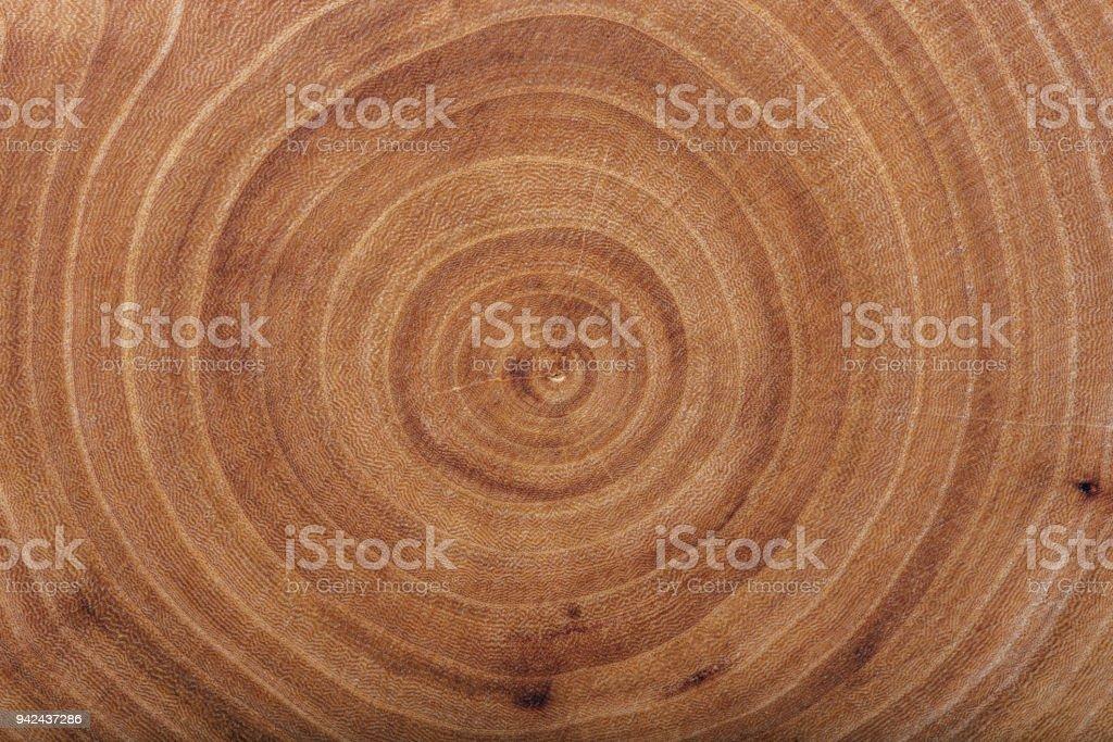 Textura de madera losa de ceniza con anillos anuales. - foto de stock
