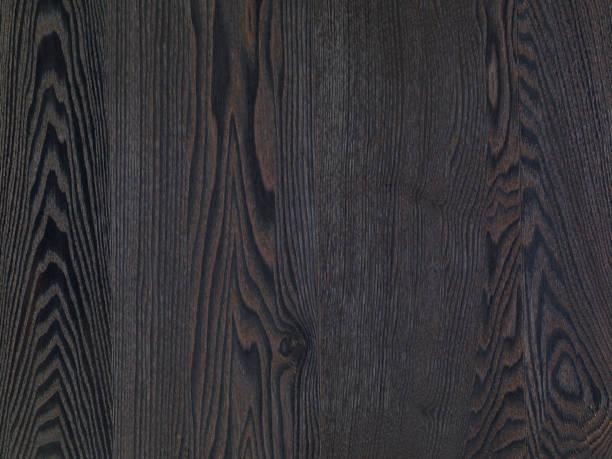 Ash Wood Texture Dark Parquet Natural Hardwood Floor Background Stock Photo