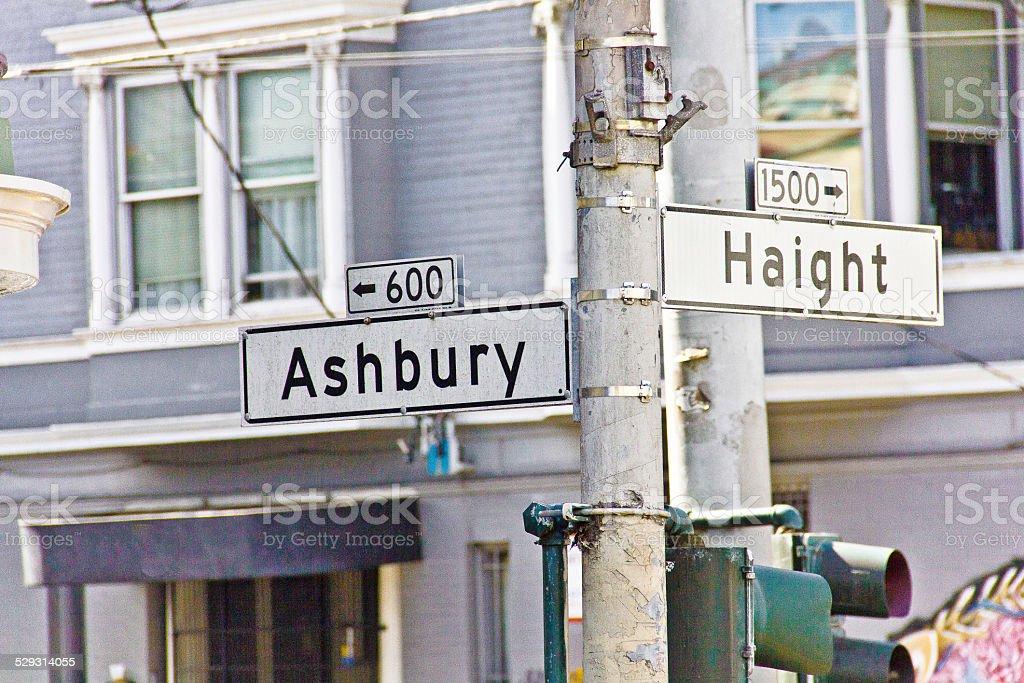 Ashbury-Haight stock photo