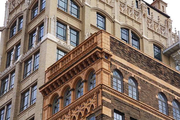Arquitectura de Asheville - foto de stock