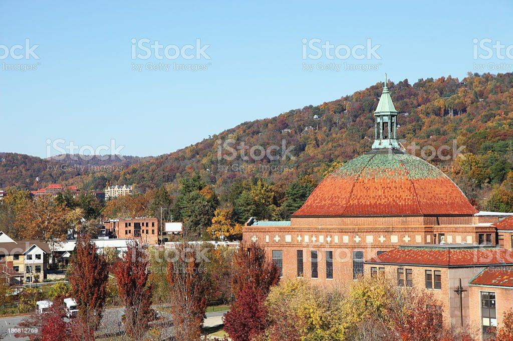Asheville, Carolina del Norte - foto de stock