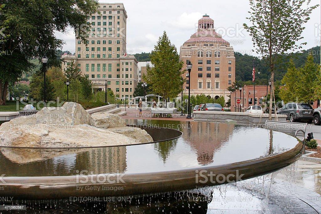 Asheville, North Carolina stock photo