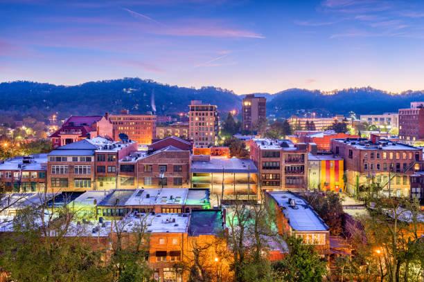 Asheville, Carolina del Norte, EE.UU. - foto de stock