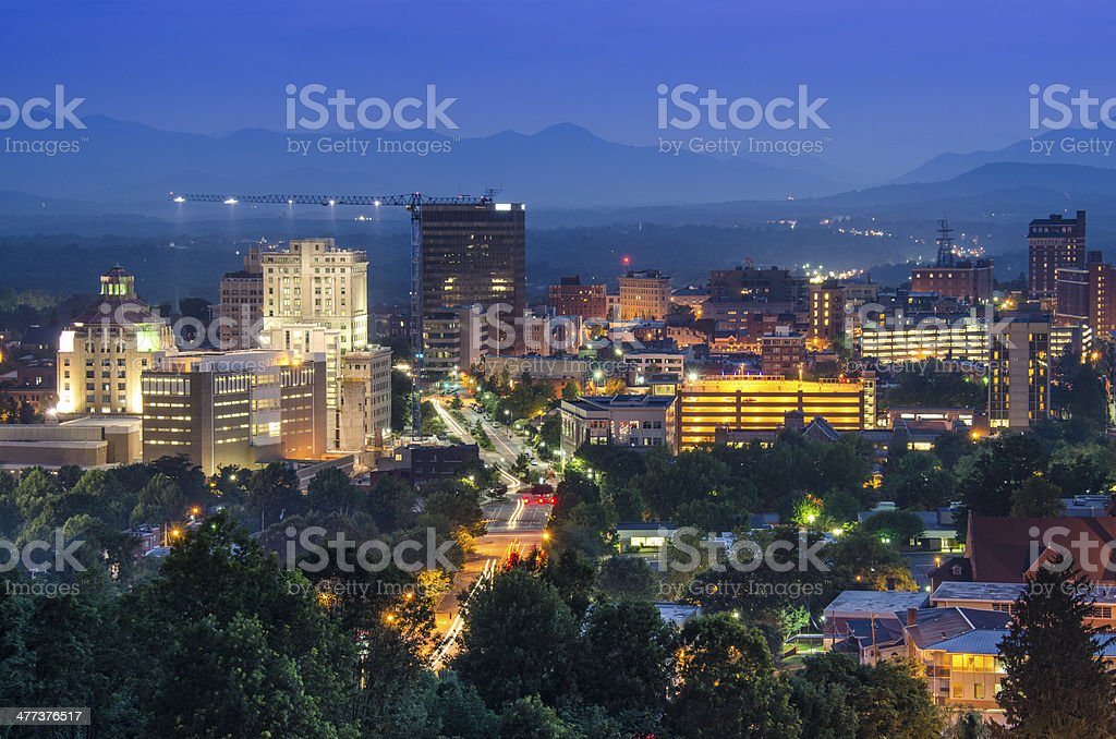Asheville stock photo