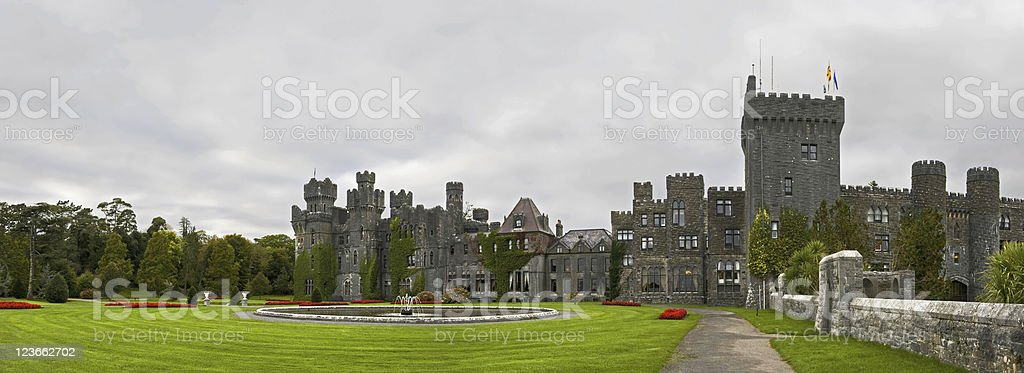 Ashford castle hotel stock photo