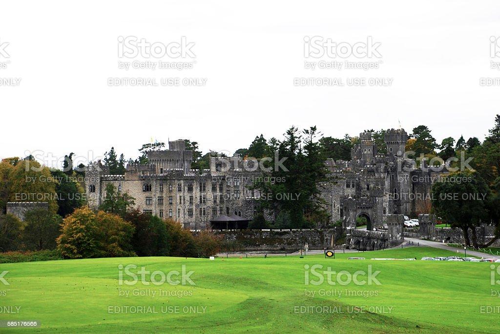 Ashford Castle - Ireland stock photo