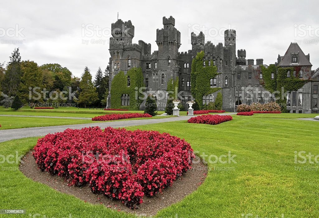 Ashford castle stock photo