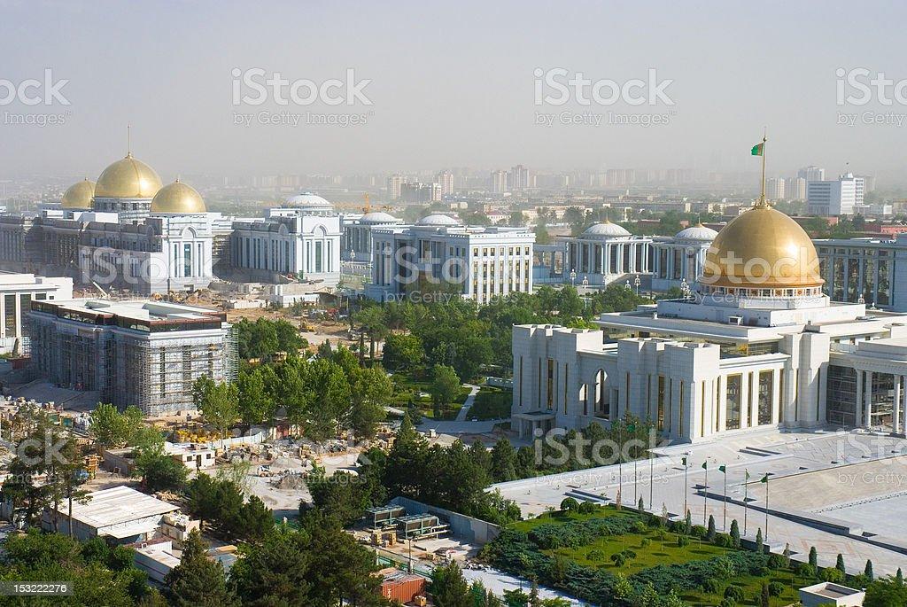 Ashgabat city stock photo