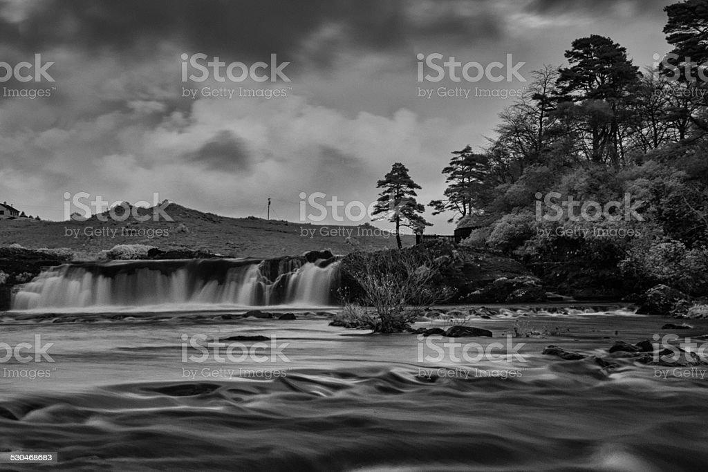 Ashleagh Falls stock photo