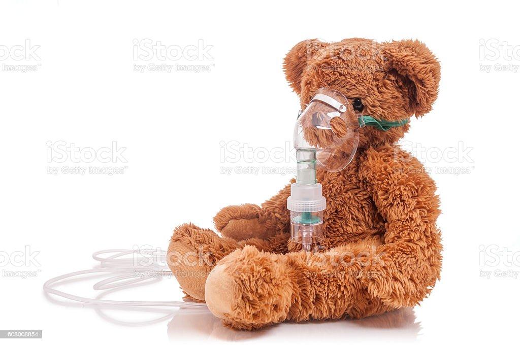 Ashtma treatment stock photo