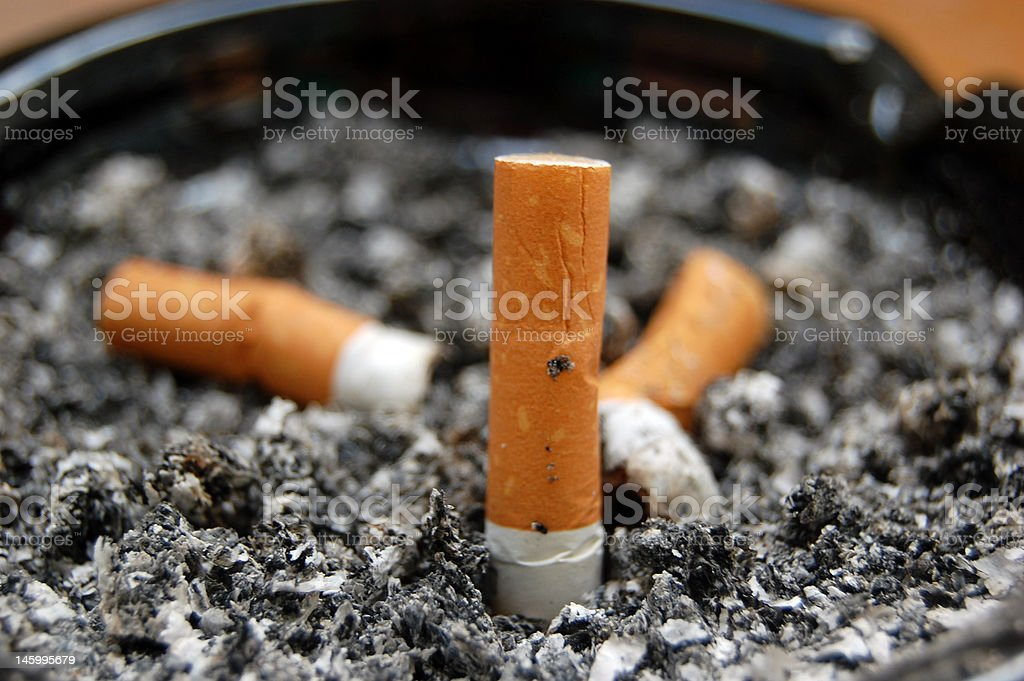 Ashtray - Royalty-free Addiction Stock Photo