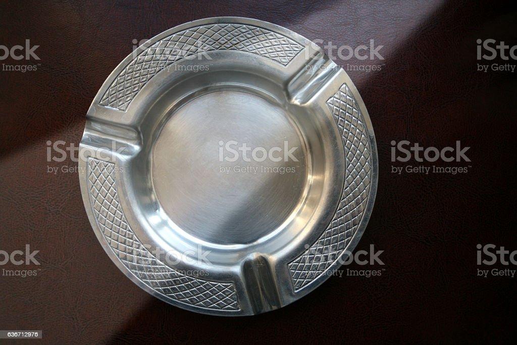 ashtray stock photo