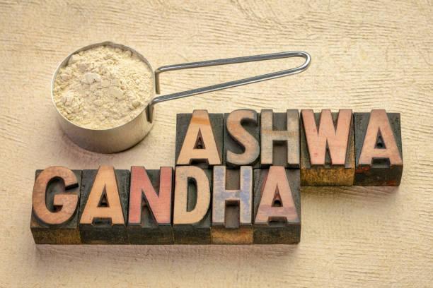 proszek korzeniowy ashwagandha - ashwaghanda zdjęcia i obrazy z banku zdjęć