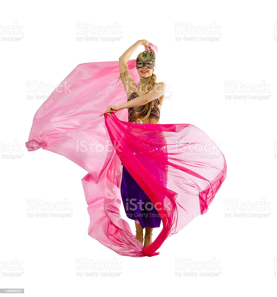 asia dance royalty-free stock photo