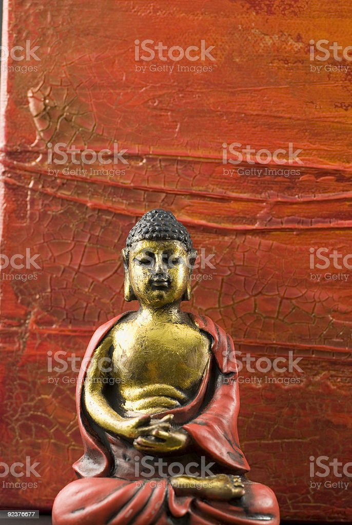 Asia still life with buddha royalty-free stock photo