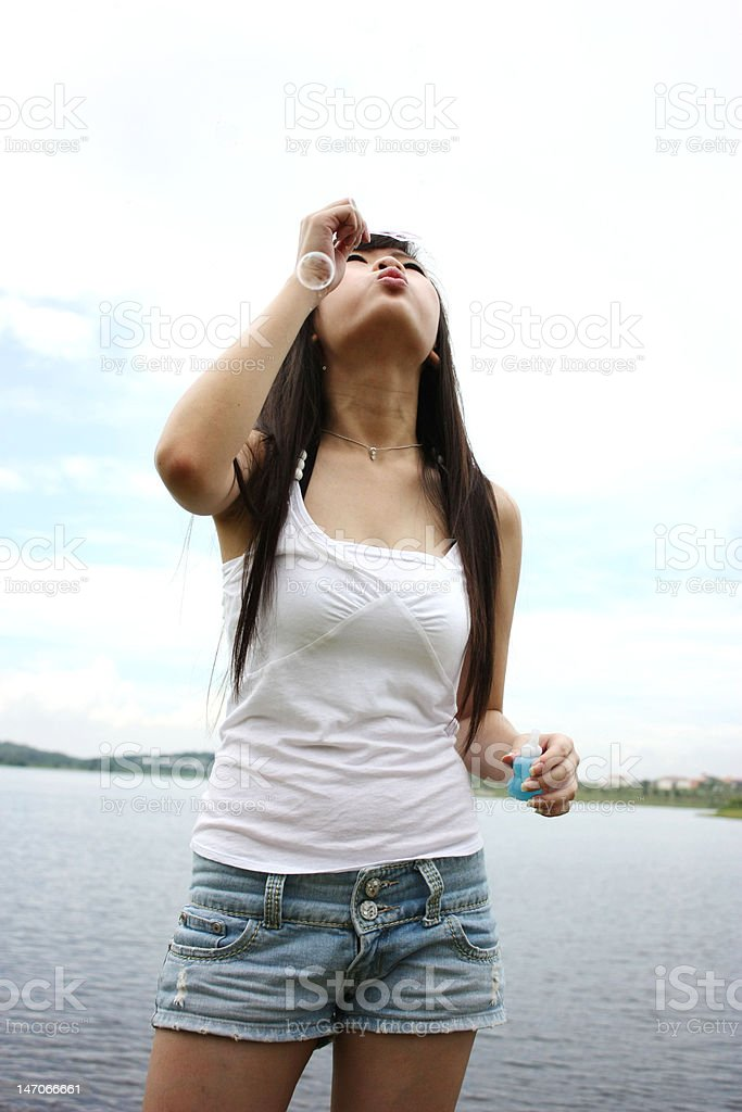 Asia Teenager stock photo