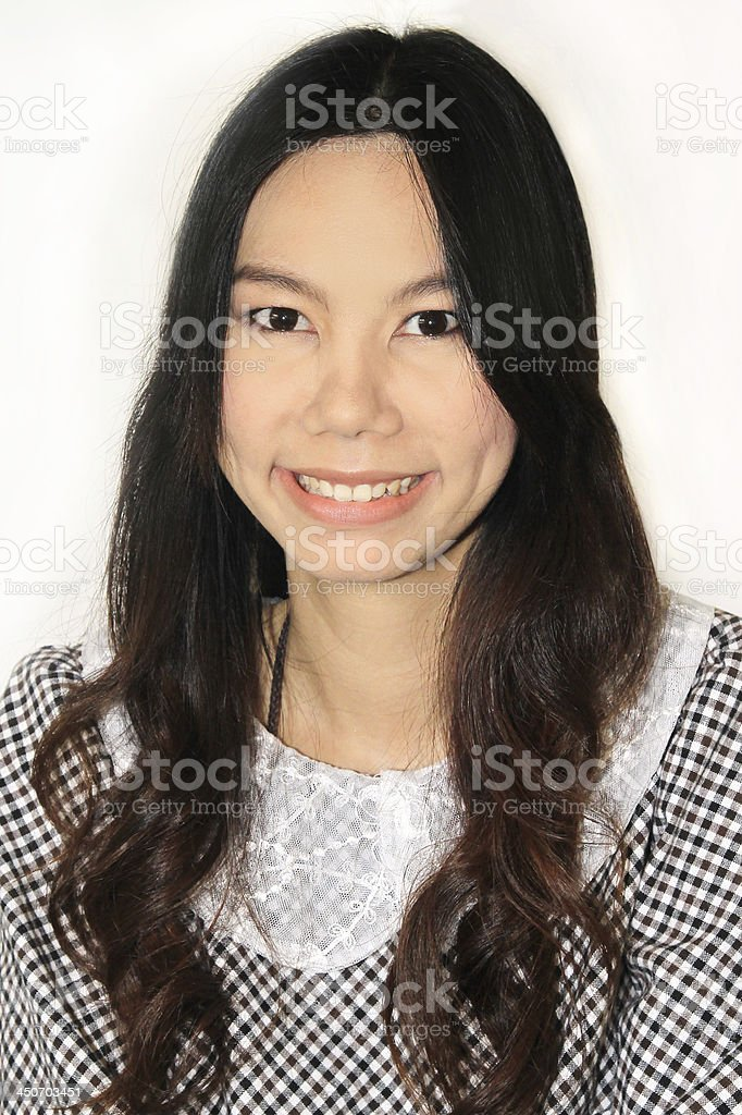 asia women face royalty-free stock photo