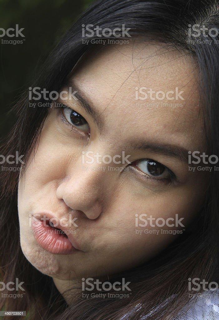 asia women face royalty-free stock photo