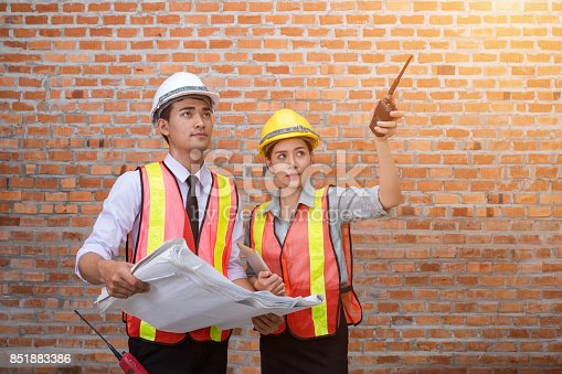 istock Asia, young engineers and women 851883386