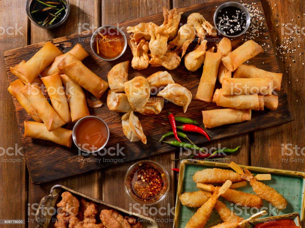 Asian Appetizers - foto stock