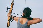 Asian Archery woman