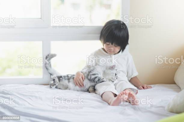 Asian baby playing with american shorthair kitten picture id695693658?b=1&k=6&m=695693658&s=612x612&h=i0kp9csnwsedjbt8w0o w33 mfsuo3hilp1lngq2rse=