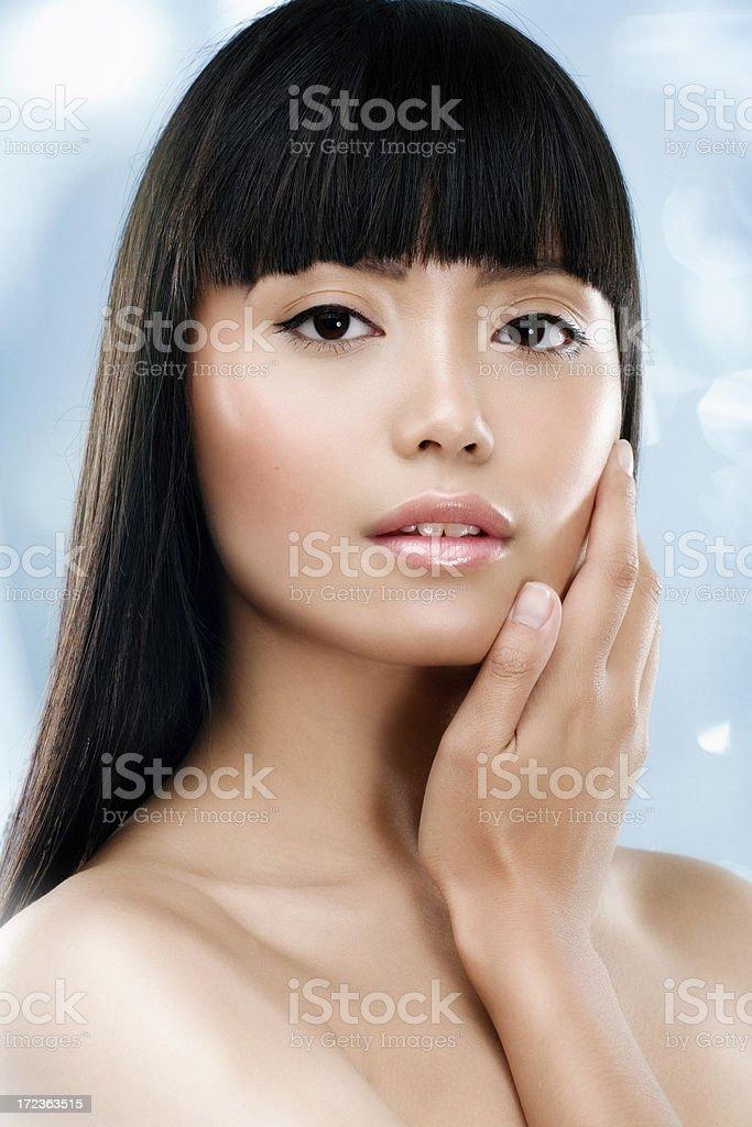 Asian Beauty royalty-free stock photo