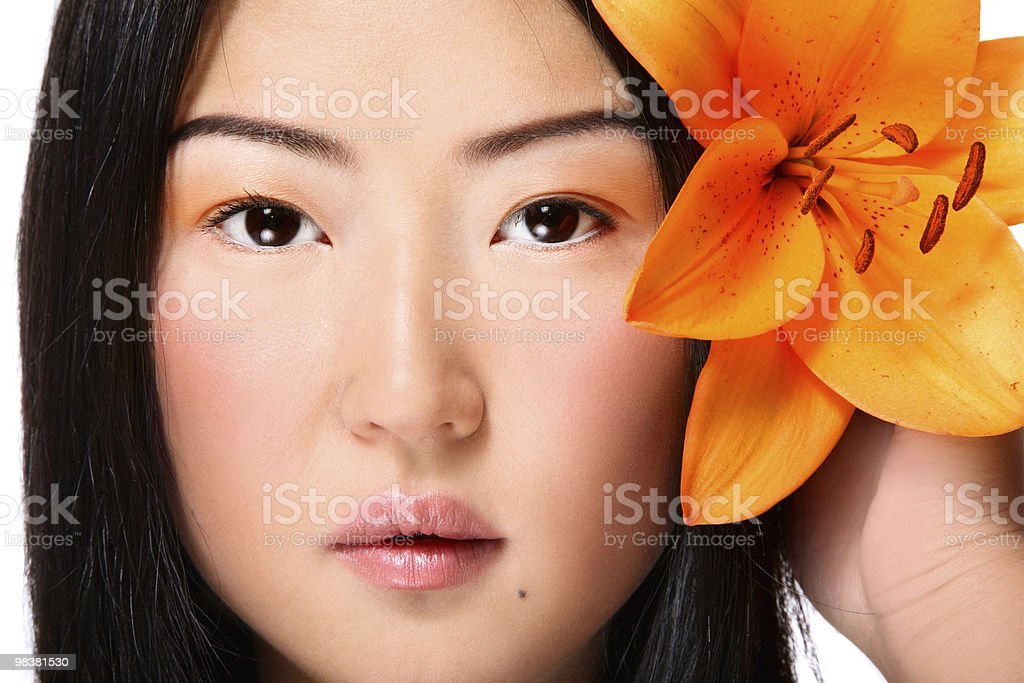 Asian beauty royalty-free stock photo