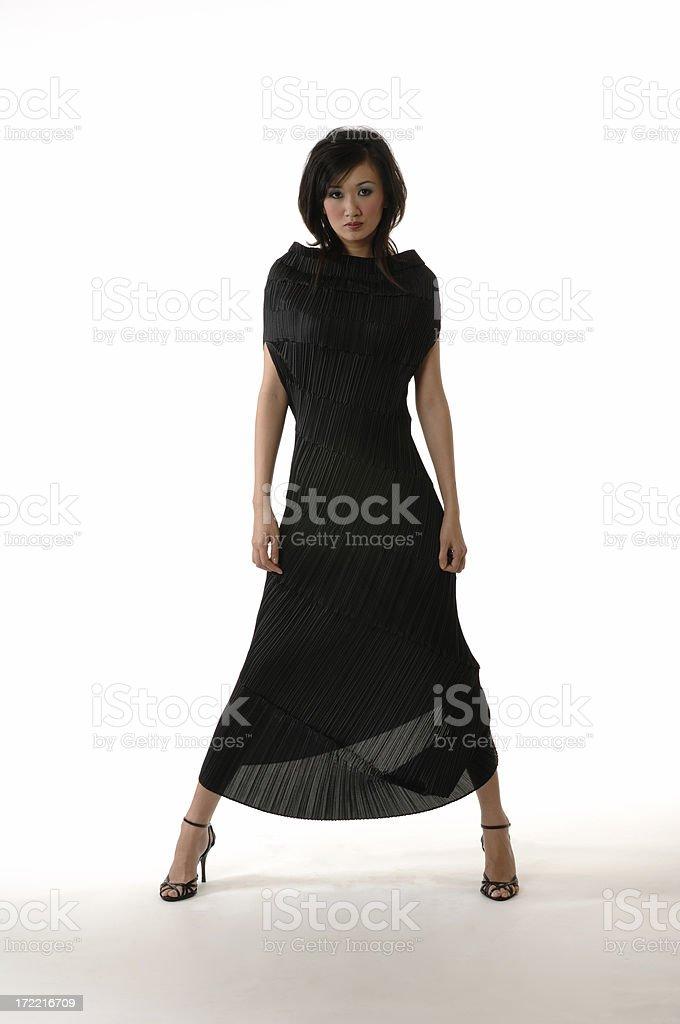 Foto de Beleza Asiática Com Vestido Japonesa Moderna e mais banco de ...