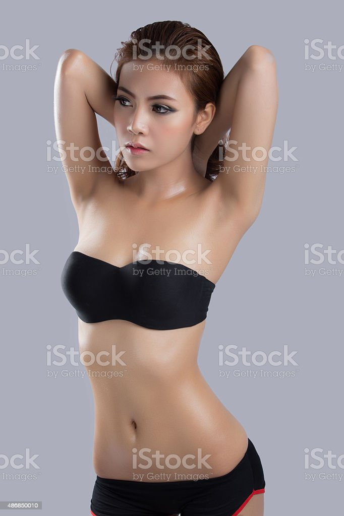 Asian beauty,sexy woman model stock photo