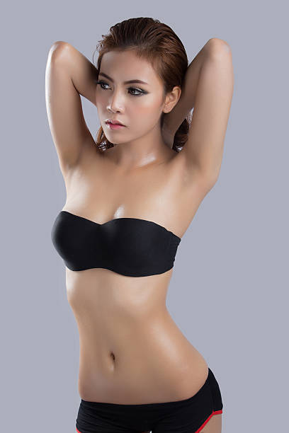 Asian beauty,sexy woman model stock photo