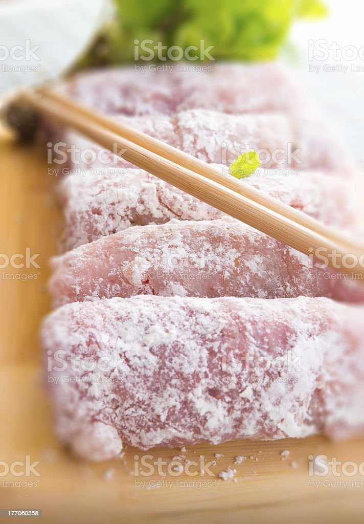 Asian beefs olive royalty-free stock photo