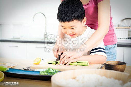 Cooking, Child, Kitchen, Family,Preparation