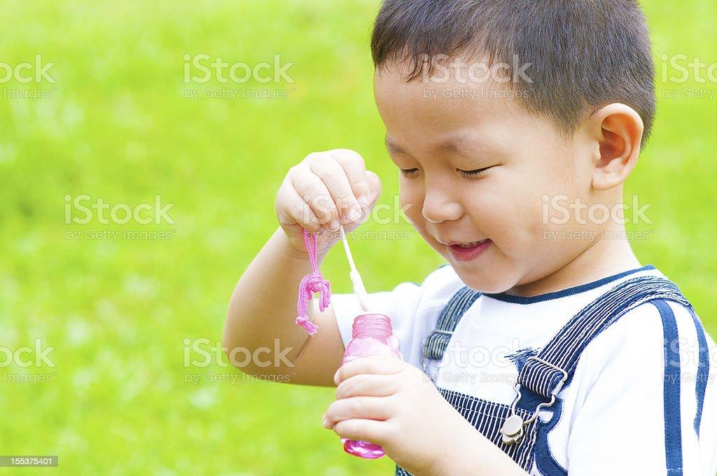 Asian boy royalty-free stock photo