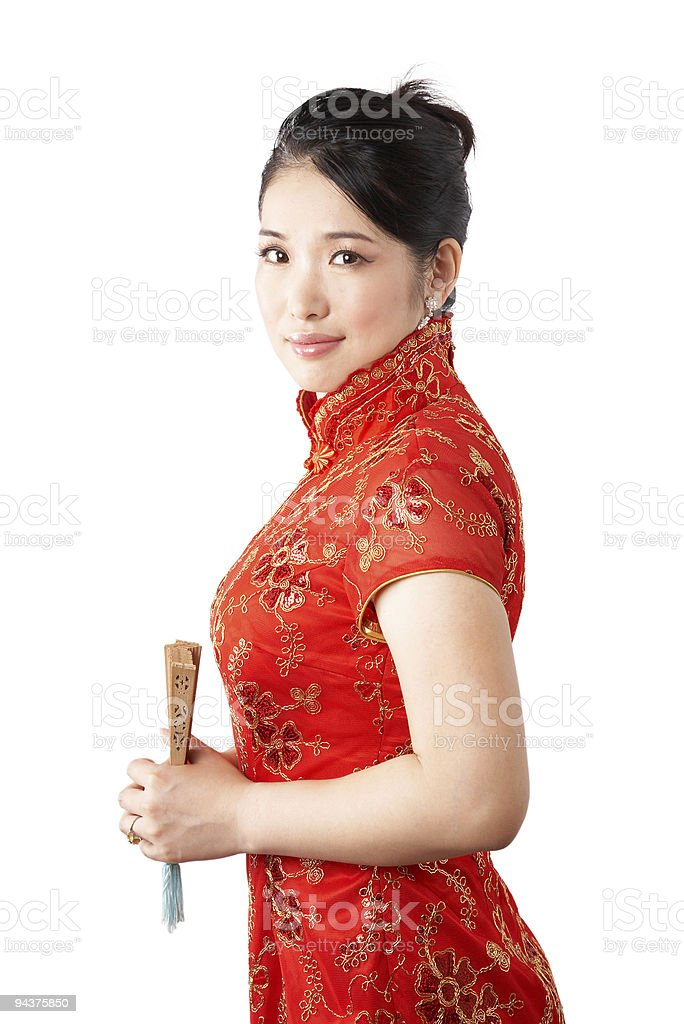 asian bride royalty-free stock photo