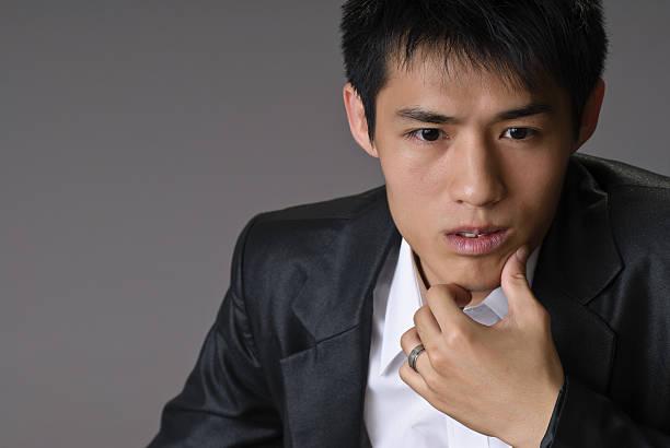 Asian business man stock photo