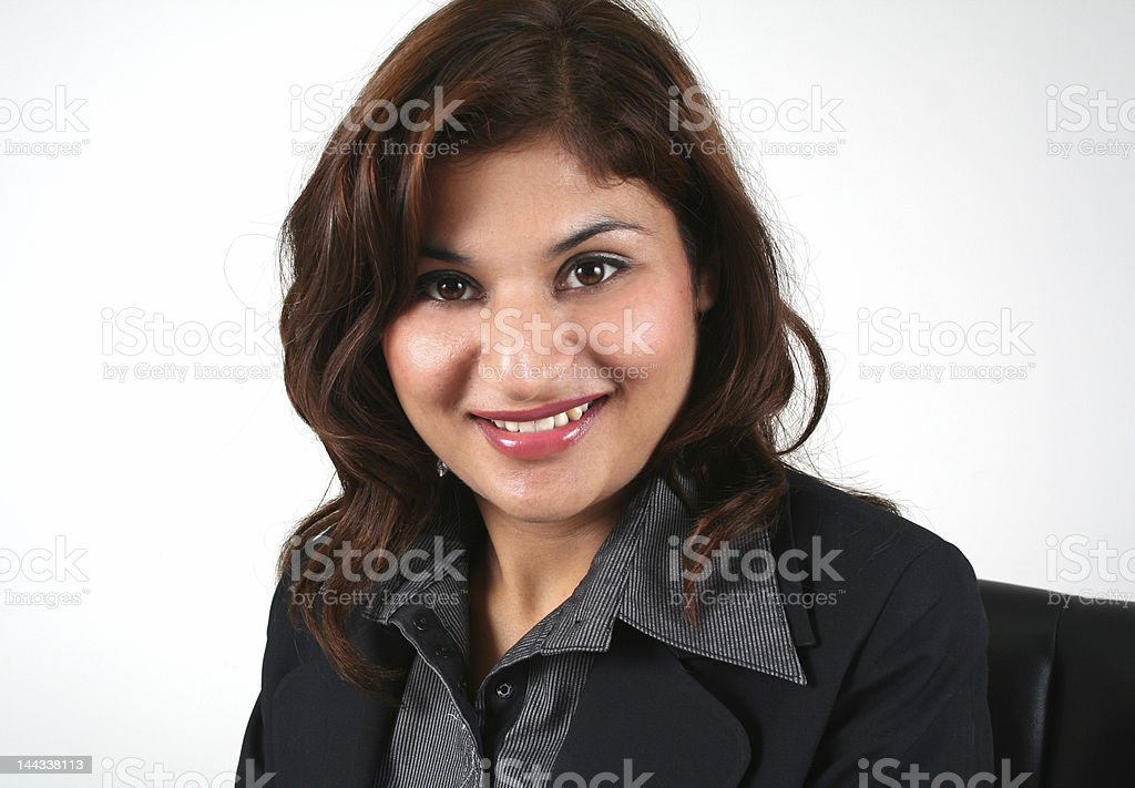 Asian business woman (series) royalty-free stock photo