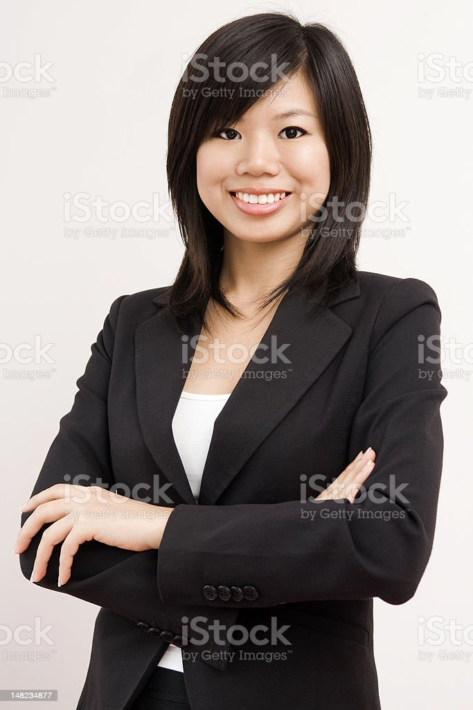 Asian business women royalty-free stock photo