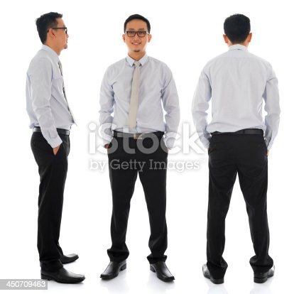 834639402istockphoto Asian businessman in different angle 450709463