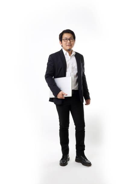 アジアのビジネスマン - スタジオ 日本人 ストックフォトと画像