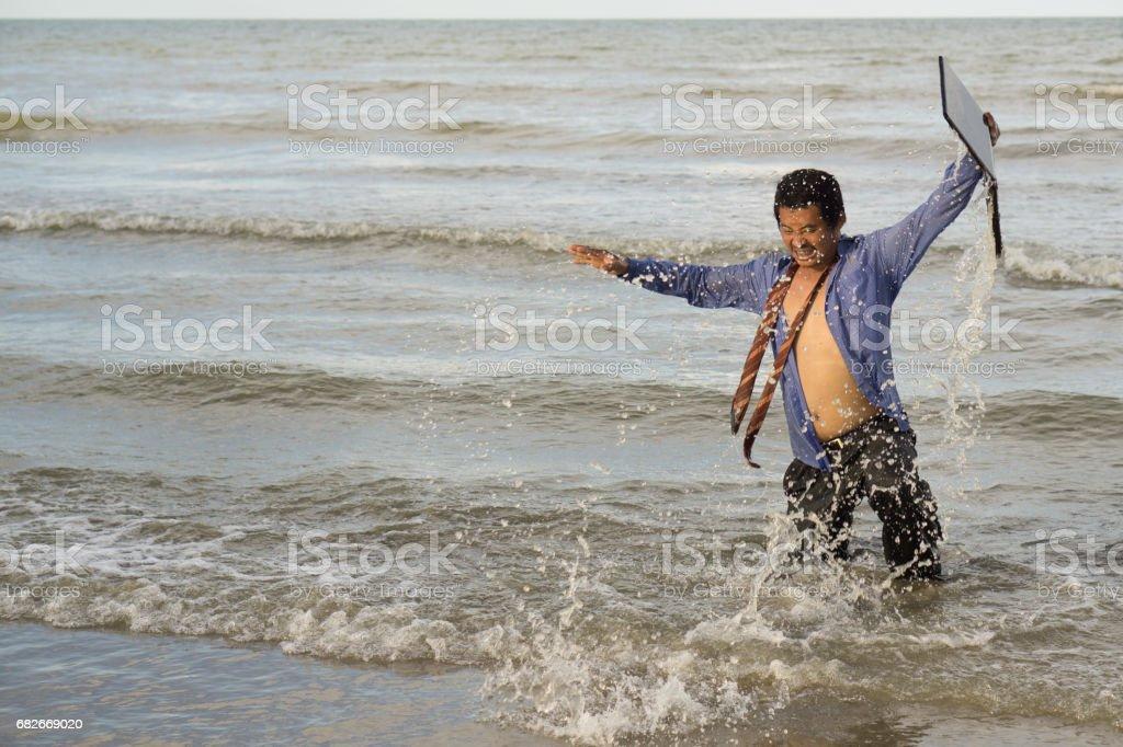 Asian businessmen stock photo
