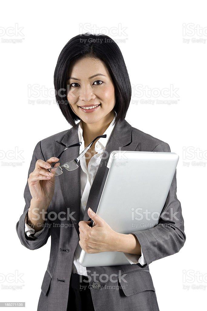 Asian Businesswoman royalty-free stock photo