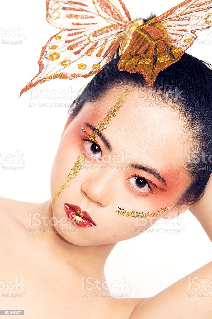 Asian Butterfly royalty-free stock photo
