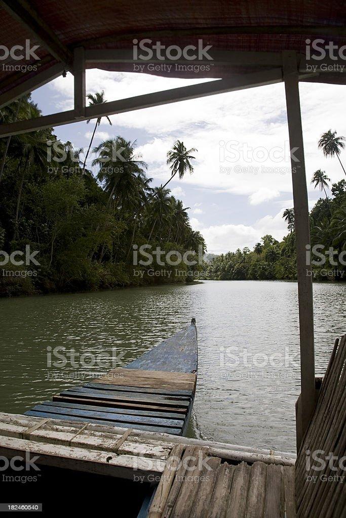 Asian Canoe royalty-free stock photo