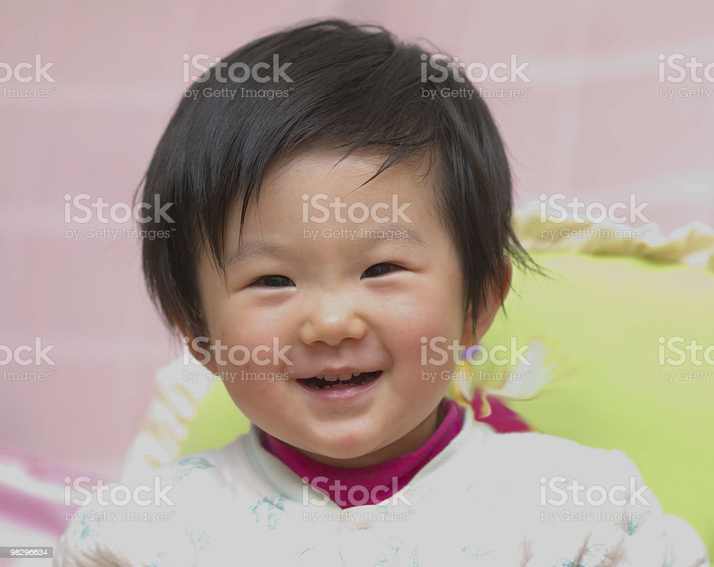 Asian child royalty-free stock photo