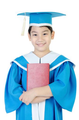 Preschooler graduation